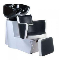 Vanity Myjnia fryzjerska luigi br-3542 biało-czarna, kategoria: urządzenia i akcesoria kosmetyczne