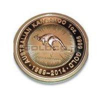 1oz Australijski Kangur - 25 Lecie Monety Kangur - Edycja Specjalna - Złota Moneta Rocznik 2014