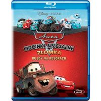 Złomka bujdy na resorach. (Blu-Ray) - John Lasseter, Rob Gibbs, Victor Navone (7321917501149)
