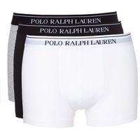 Ralph Lauren Bokserki 3-pak Czarny Biały Szary XL