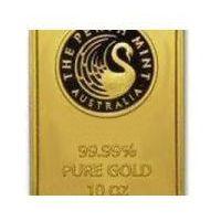 311,03g (10 uncji) sztabka złota mennica Perth Mint - Dostawa Natychmiastowa