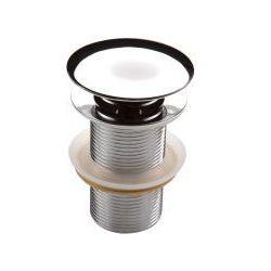 Deante Korek klik-klak okrągły bez przelewu do umywalki chrom Clic-Clac NHC 010A - produkt z kategorii- Pozo
