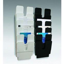 FLEXIPLUS A4 6 pionowych pojemników na dokumenty, kolor biały DURABLE, 1700008011_d