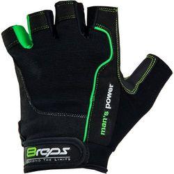 8reps Rękawice kulturystyczne  dd-105 men's power męskie zielony (rozmiar l)