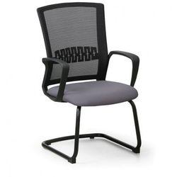 Krzesło konferencyjne roy, szary marki B2b partner