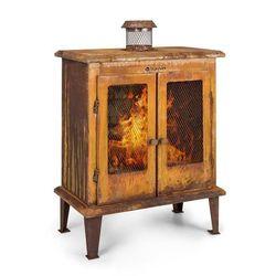 Blumfeldt flame locker, kominek ogrodowy w stylu vintage, 58 x 30 cm, stal, imitacja rdzy (4060656157745)