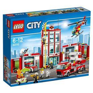 60110 REMIZA Fire Station KLOCKI LEGO CITY - BEZPŁATNY ODBIÓR: WROCŁAW!