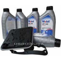 Filtr oraz olej skrzyni 4SPD Mobil ATF320 Chrysler Pacifica