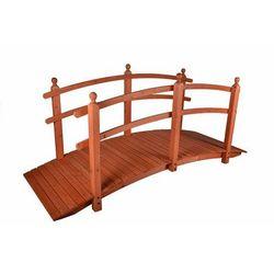 Drewniana kładka mostek ogrodowy Garth 250 cm