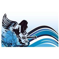 Tablica suchościeralna 149 gitarzysta marki Wally - piękno dekoracji