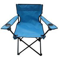 Krzesełko wędkarskie Oxford, niebieski