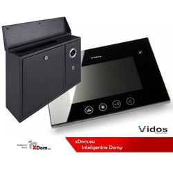 Zestaw skrzynka na listy z wideodomofonem. monitor 4,3'' s551-skn_m670b marki Vidos