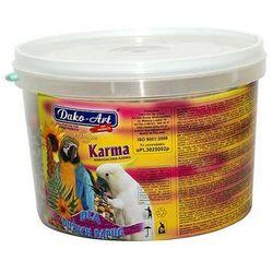 DAKO-ART Pełnowartościowy pokarm dla dużych papug 800g