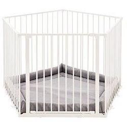 Baby Dan kojec Park A Kid - biały - odbiór w 2000 punktach - Salony, Paczkomaty, Stacje Orlen (5705548028114)