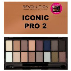Makeup Revolution Salvation Palette Iconic Pro 2 - paleta cieni do powiek (5029066043825)
