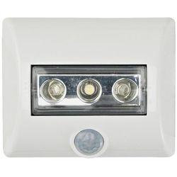 Lampka nocna z czujnikiem ruchu OSRAM 4008321376596, LED wbudowany na stałe, (DxSxW) 8.6 x 6.9 x 2.8 cm, biały (4008321376596)