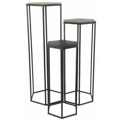 Intesi Nesting czarny zestaw stolików (5902385748803)