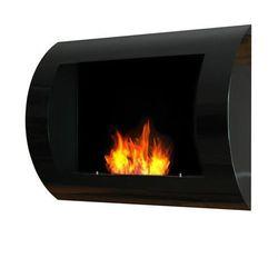 Biokominek dekoracyjny 60x45 cm czarny Convex z kategorii Biokominki