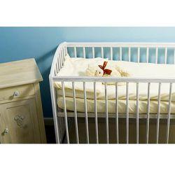 Pościel do Wózka lub Kołyski NANAF ORGANIC, Do spania i kąpania, naturalna 60x80 cm - Naturalny/ecru