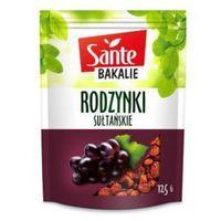 Rodzynki sułtańskie 125 g Sante
