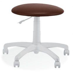 Krzesło specjalistyczne goliat white ts12 - obrotowe marki Nowy styl