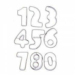 Orion Foremki wykrawacze metalowe cyfry cyferki 0-9 ** #
