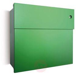 Absolut/ radius Skrzynka na listy letterman iv z dzwonkiem, ziel. (4250208615636)