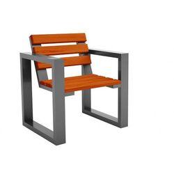 Fotel ogrodowy norin silver- 8 kolorów marki Elior.pl