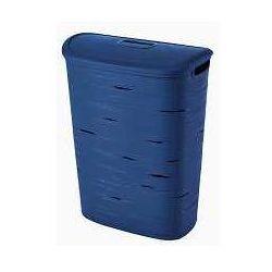 Kosz na bieliznę ribbon  49l - niebieski marki Curver