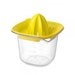 Wyciskacz do cytrusów z pojemnikem tasty colours żółty - marki Brabantia