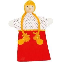 Pacynka do zabaw w teatrzyk - dziewczynka - produkt z kategorii- pacynki i kukiełki