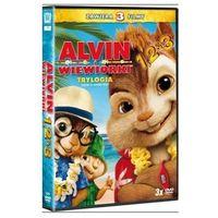 Pakiet: Alvin i wiewiórki. Trylogia (3xDVD) - Mike Mitchell, Betty Thomas (5903570151842)