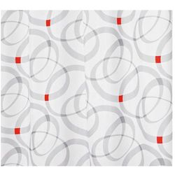 Zasłonа SAXO, czarny&biały, 180 x 200 cm