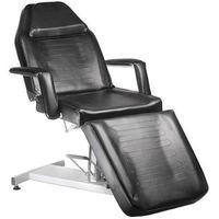 Fotel kosmetyczny hydrauliczny bw-210 czarny marki Beauty system
