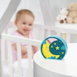 Reer Lampka nocna led na baterie dla dzieci księżyc - księżyc