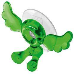 Uchwyt na szczoteczkę do zębów alois zielony przezroczysty marki Koziol