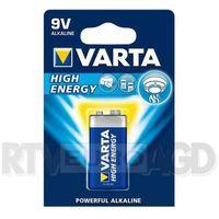 Bateria alkaliczna Varta High Energy 6LR61 9V - sprawdź w wybranym sklepie
