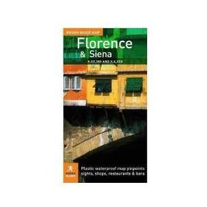 Florencja Mapa: Rough Guide Map Florence
