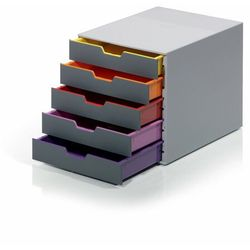 Kontener szufladowy Durable Varicolor 5 szuflad 7605 - mix, 71235