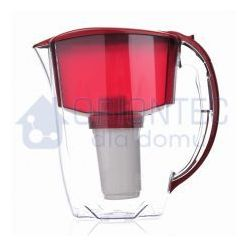 Dzbanek filtrujący prestige, wiśniowy + wkład aquaphor b100-5 marki Aquaphor