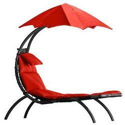 Leżak hamakowy, Czerwony DRMLG z kategorii leżaki ogrodowe