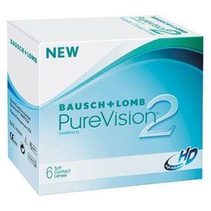 Bausch & lomb Bausch&lomb purevision 2 hd nigh&day - 6 sztuk w blistrach