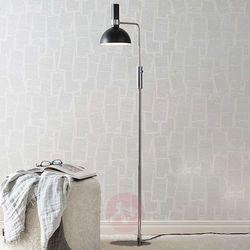 Markslojd Lampa podłogowa larry floor black/brass 106857 - – rabat w koszyku