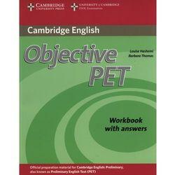 Objective PET (2nd Edition) Workbook (zeszyt ćwiczeń) with Answers, rok wydania (2010)