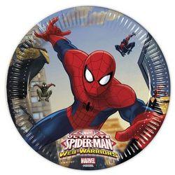 Talerzyki urodzinowe Ultimate Spiderman Web Warriors - 20 cm - 8 szt.