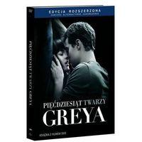 Pięćdziesiąt twarzy Greya (DVD) - edycja rozszerzona z książką - Sam Taylor- Johnson (9788379895960)