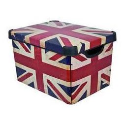Curver Pojemnik  british flag rozmiar l
