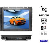 "NVOX OP1500VH Monitor open frame LCD 15"" cali LED VGA HDMI DVI 12V 230V"