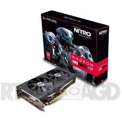 Karta graficzna Sapphire Radeon RX 480 Nitro+ 8GB GDDR5 (256 Bit) DVI, 2xHDMI, 2xDP, BOX(11260-01-20G) Szy