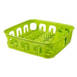 Suszarka do naczyń kwadratowa ESSENTIALS zielona z kategorii suszarki do naczyń